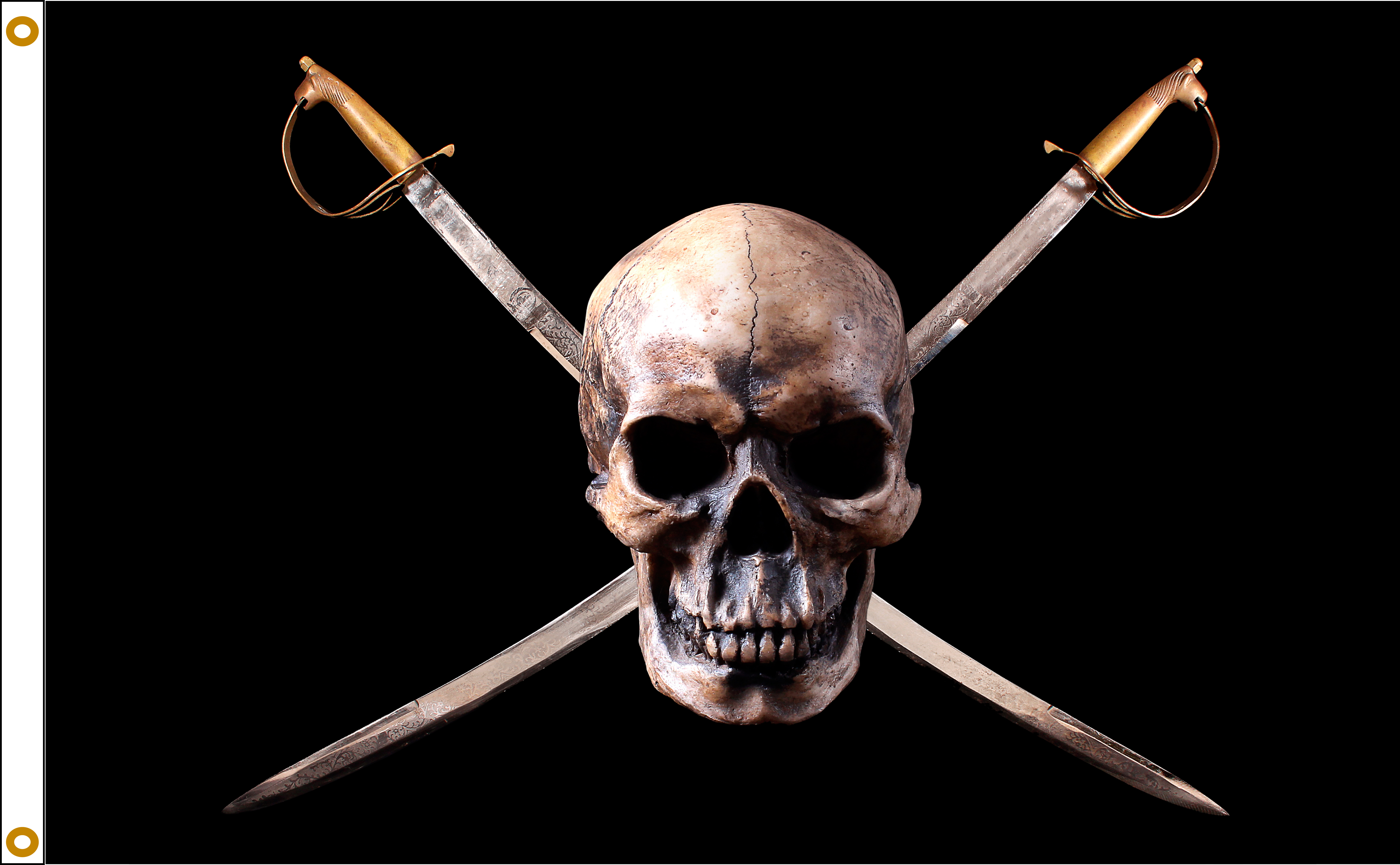 Pirate Flag Jolly Rogers Nylon